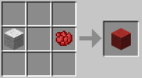 Crafting Red Wool from Rose Red and Wool