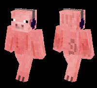 Pig man skin