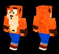 Crash Bandicoot skin