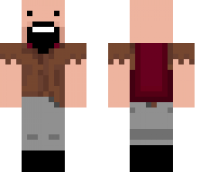 Notch Minecraft Skin