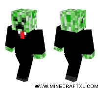 Mr Creeper skin