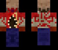HL2 Headcrab Zombie Minecraft Skin