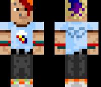 Rainbow Dash Minecraft Skin