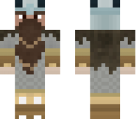 Dwarf of the North Minecraft Skin