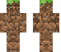 Dirt camo Minecraft Skin