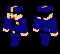 Police man skin