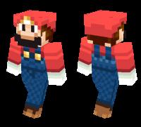 Super Mario skin