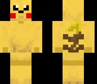 Pikachu Minecraft Skin