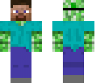 Creeper In Disguise Minecraft Skin