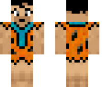 Fred Flintstone Minecraft Skin