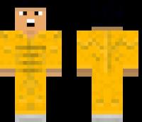 Bruce Lee Minecraft Skin