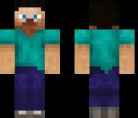 Default Skin HD Minecraft Skin
