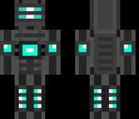 Robot Minecraft Skin