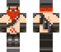 Dwarf Red Beard Minecraft Skin