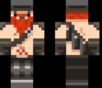 Dwarf Red Beard Minecraft Skin