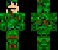 Grass Camo Minecraft Skin