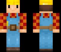 Bob the Builder Minecraft Skin