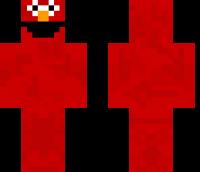 Elmo Minecraft Skin