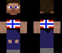 Norway guy Minecraft Skin