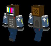 TV man skin