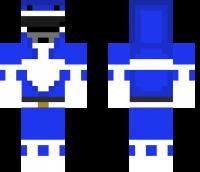 Blue Ranger Minecraft Skin