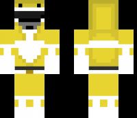 Yellow Ranger Minecraft Skin