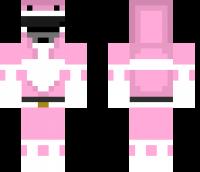 Pink Ranger Minecraft Skin