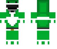 Green Ranger Minecraft Skin
