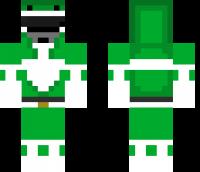 Green Ranger Minecraft Skin