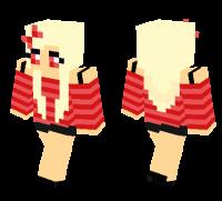 Cute Girl skin