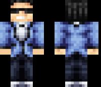 Psy Minecraft Skin