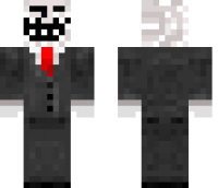 Troll Face Minecraft Skin