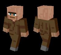 Villager skin