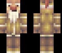 Snow Imp Minecraft Skin
