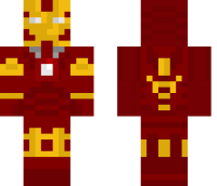 Iron Man Minecraft Skin