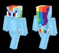 Rainbow Dash Pony skin