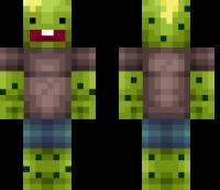 Cactus Boy Minecraft Skin