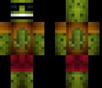 Cool Cactus Minecraft Skin