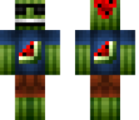 Cool Melon Minecraft Skin