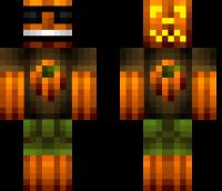 Cool Pumpkin Minecraft Skin
