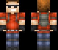 Griefer Minecraft Skin