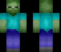 Zombie HD Minecraft Skin