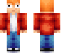 Fry Futurama Minecraft Skin