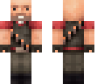 TF2 Heavy Minecraft Skin
