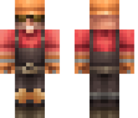 TF2 Engineer Minecraft Skin