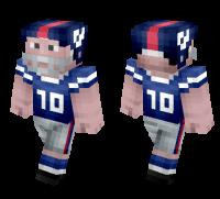 NFL Player Minecraft Skin Download