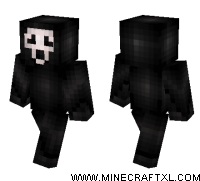 minecraft scream skin