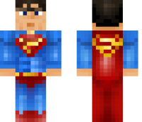 Superman Minecraft Skin