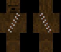 Chewbacca Minecraft Skin