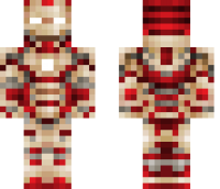 Iron Man Mark 42 Minecraft Skin